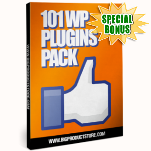 Special Bonuses - November 2016 - 101 WP Plugins Pack