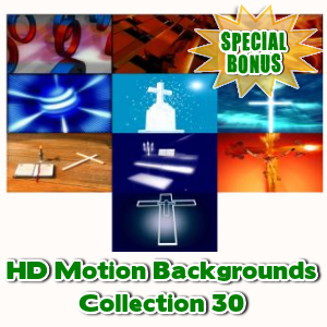 Special Bonuses - November 2016 - HD Motion Backgrounds Collection 30