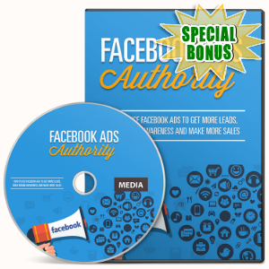 Special Bonuses - November 2016 - Facebook Ads Authority Gold Video Series