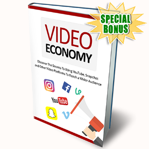 Special Bonuses - November 2016 - Video Economy