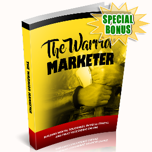 Special Bonuses - November 2016 - The Warrior Marketer