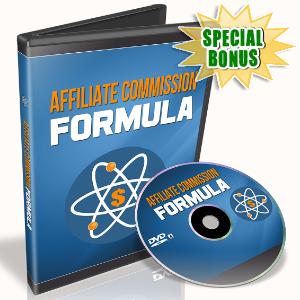 Special Bonuses - December 2016 - Affiliate Commission Formula Video Upgrade