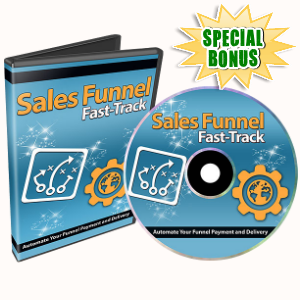 Special Bonuses - December 2016 - Sales Funnel Fast track V2 Part 1 Video Series