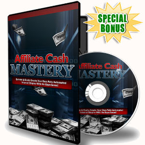 Special Bonuses - December 2016 - Affiliate Cash Mastery Video Series
