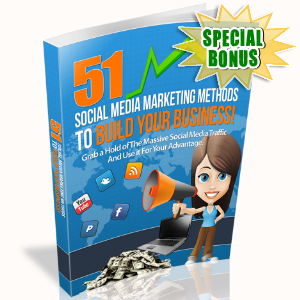 Special Bonuses - December 2016 - 51 Social Media Marketing Methods