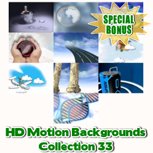 Special Bonuses - December 2016 - HD Motion Backgrounds Collection 33