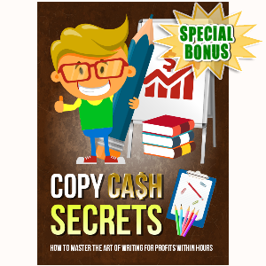 Special Bonuses - December 2016 - Copy Cash Secrets Video Series