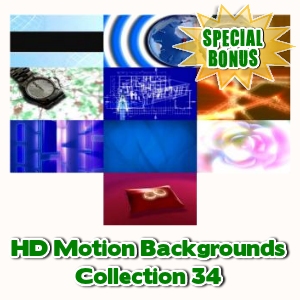 Special Bonuses - December 2016 - HD Motion Backgrounds Collection 34