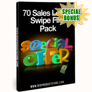 Special Bonuses - January 2017 - 70 Sales Letter Swipe File Pack