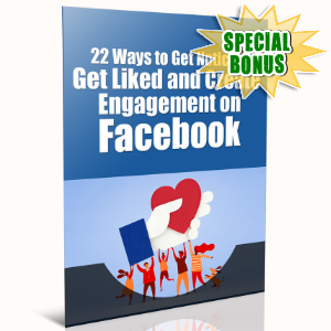Special Bonuses - January 2017 - Get Liked And Create Engagement On Facebook