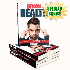 Special Bonuses - January 2017 - Brain Health