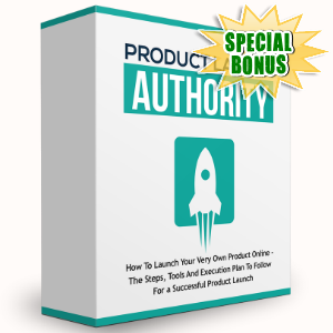 Special Bonuses - January 2017 - Product Launch Authority