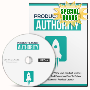 Special Bonuses - January 2017 - Product Launch Authority Gold Video Series