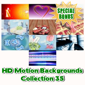 Special Bonuses - January 2017 - HD Motion Backgrounds Collection 35