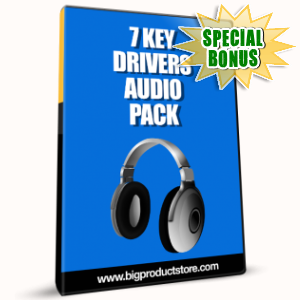 Special Bonuses - January 2017 - 7 Key Drivers Audio Pack