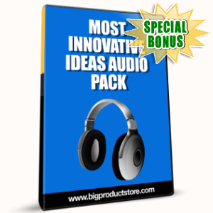 Special Bonuses - January 2017 - Most Innovative Ideas Audio Pack