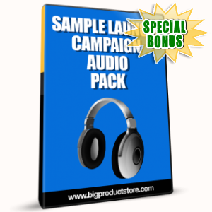 Special Bonuses - January 2017 - Sample Launch Campaign Audio Pack