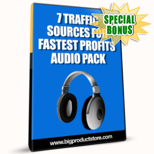 Special Bonuses - January 2017 - 7 Traffic Sources For Fastest Profits Audio Pack