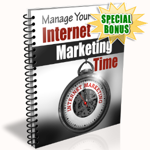 Special Bonuses - February 2017 - Manage Your Internet Marketing Time