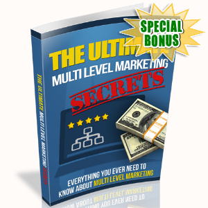 Special Bonuses - February 2017 - The Ultimate Multi Level Marketing Secrets