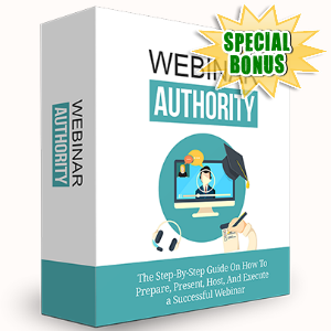 Special Bonuses - February 2017 - Webinar Authority