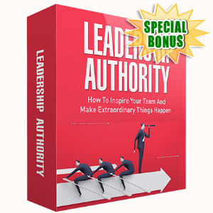 Special Bonuses - March 2017 - Leadership Authority