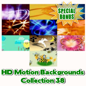 Special Bonuses - March 2017 - HD Motion Backgrounds Collection 38