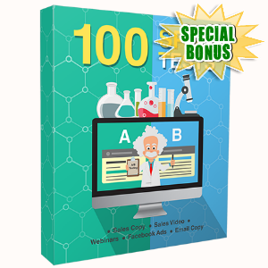 Special Bonuses - April 2017 - 100 Split Tests Video Series