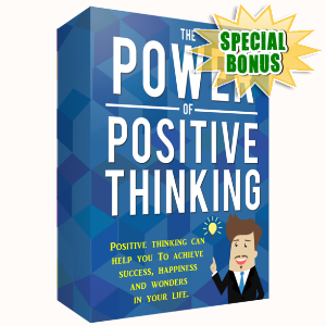 Special Bonuses - April 2017 - The Power Of Positive Thinking