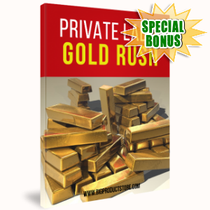 Special Bonuses - April 2017 - Private Label Gold Rush