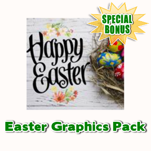 Special Bonuses - April 2017 - Easter Graphics Pack