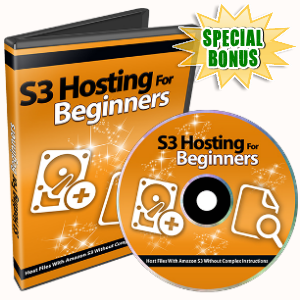 Special Bonuses - April 2017 - Amazon S3 For Beginners Part 2 Video Series