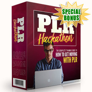 Special Bonuses - April 2017 - PLR Hackathon Video Series