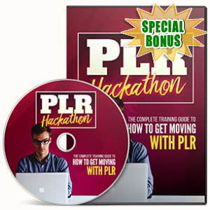 Special Bonuses - April 2017 - PLR Hackathon Hands On Workshop Video Series