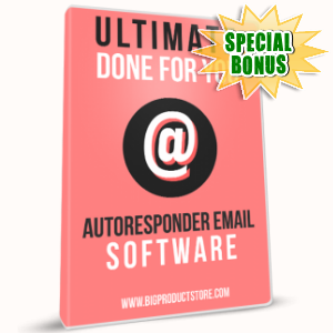 Special Bonuses - May 2017 - Ultimate Done For You Autoresponder Email Series Version 1