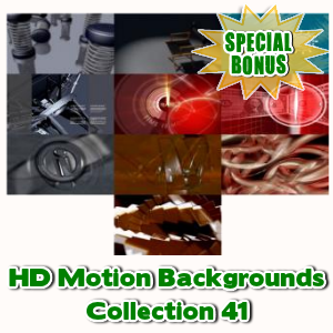 Special Bonuses - May 2017 - HD Motion Backgrounds Collection 41