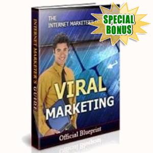 Special Bonuses - May 2017 - Viral Marketing