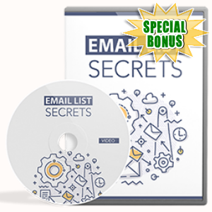 Special Bonuses - May 2017 - Email List Secrets Video Upgrade