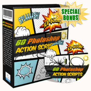 Special Bonuses - May 2017 - 60 Photoshop Action Scripts Pack
