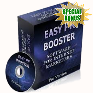 Special Bonuses - May 2017 - Easy PR Booster Script