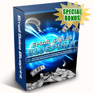 Special Bonuses - May 2017 - Email Sales Blueprint Video Series