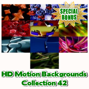 Special Bonuses - May 2017 - HD Motion Backgrounds Collection 42