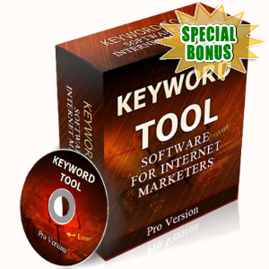 Special Bonuses - May 2017 - Keyword Tool Software