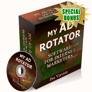 Special Bonuses - May 2017 - My Ad Rotator Script