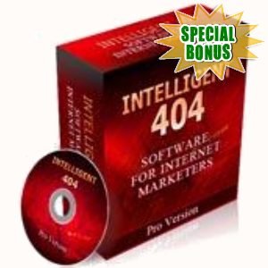 Special Bonuses - May 2017 - Intelligent 404 Script