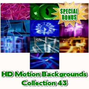 Special Bonuses - June 2017 - HD Motion Backgrounds Collection 43