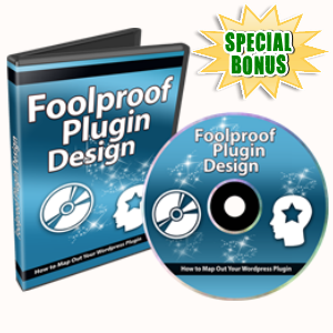 Special Bonuses - June 2017 - Foolproof Plugin Design Audio/Video Series Part 1
