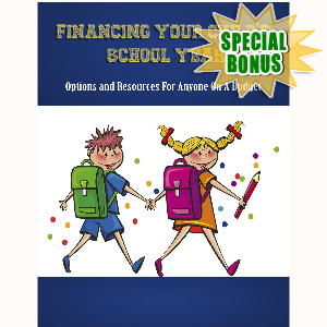 Special Bonuses - June 2017 - Financing Your Child's School Year