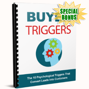 Special Bonuses - June 2017 - Buyer Triggers