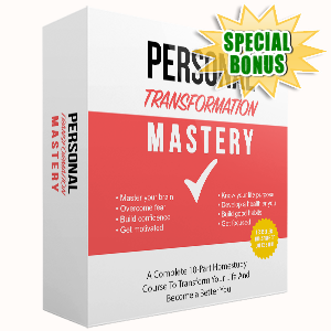 Special Bonuses - June 2017 - Personal Transformation Mastery